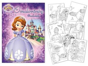 Omaľovánky MFP A4 Disney (Sofia the First)