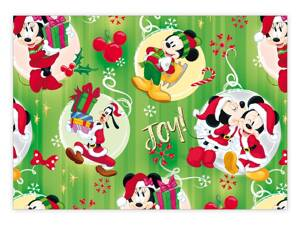 Baliací papier vianočný LUX YV020 Disney (Mickey and Minnie)
